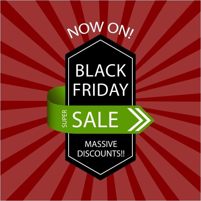 Free Vector Black Friday Sale Tag Template HttpWwwCgvectorCom