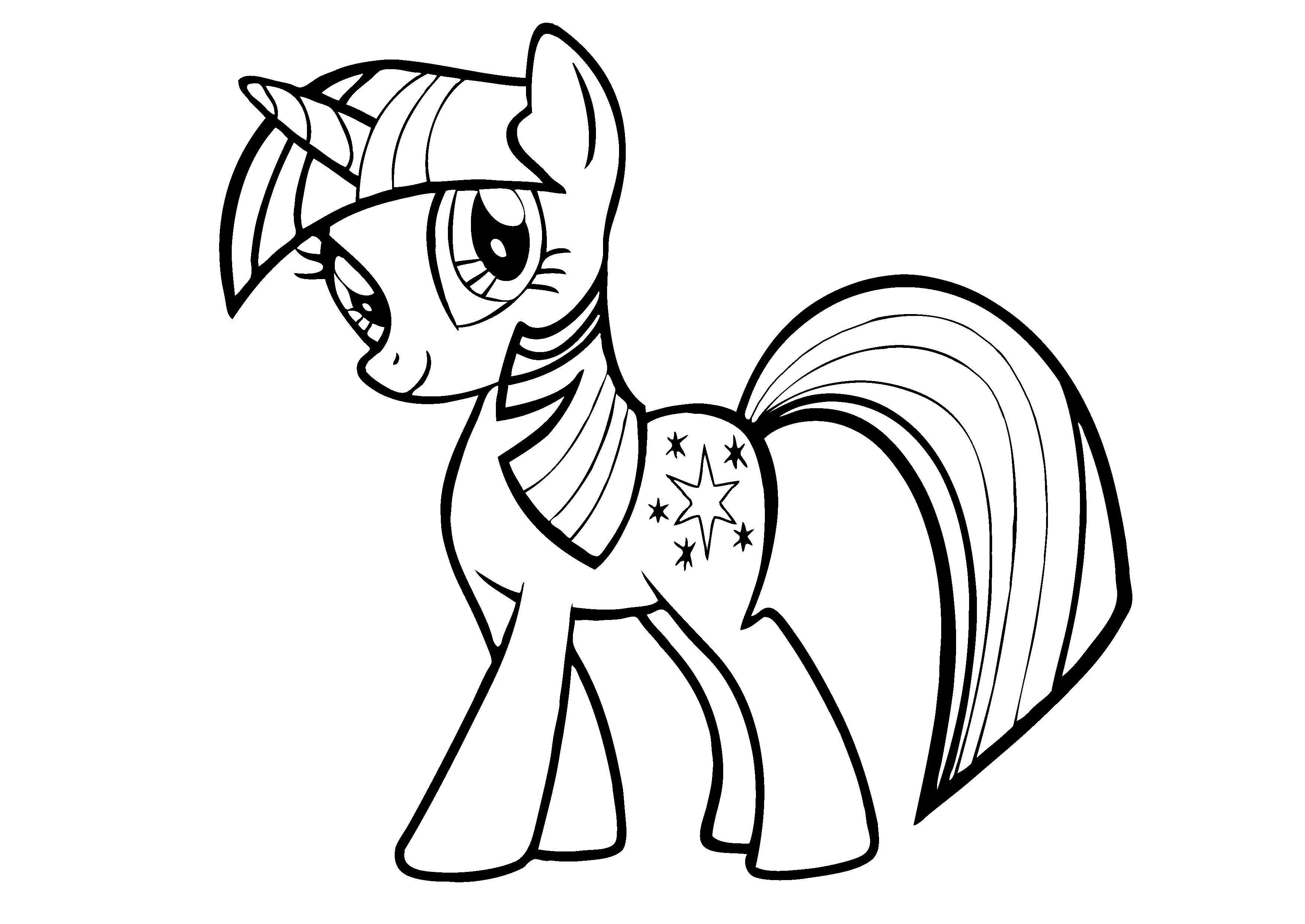 Ausmalbilder My Little Pony Luna Böse : Free Printable My Little Pony Coloring Pages For Kids Sch Ne