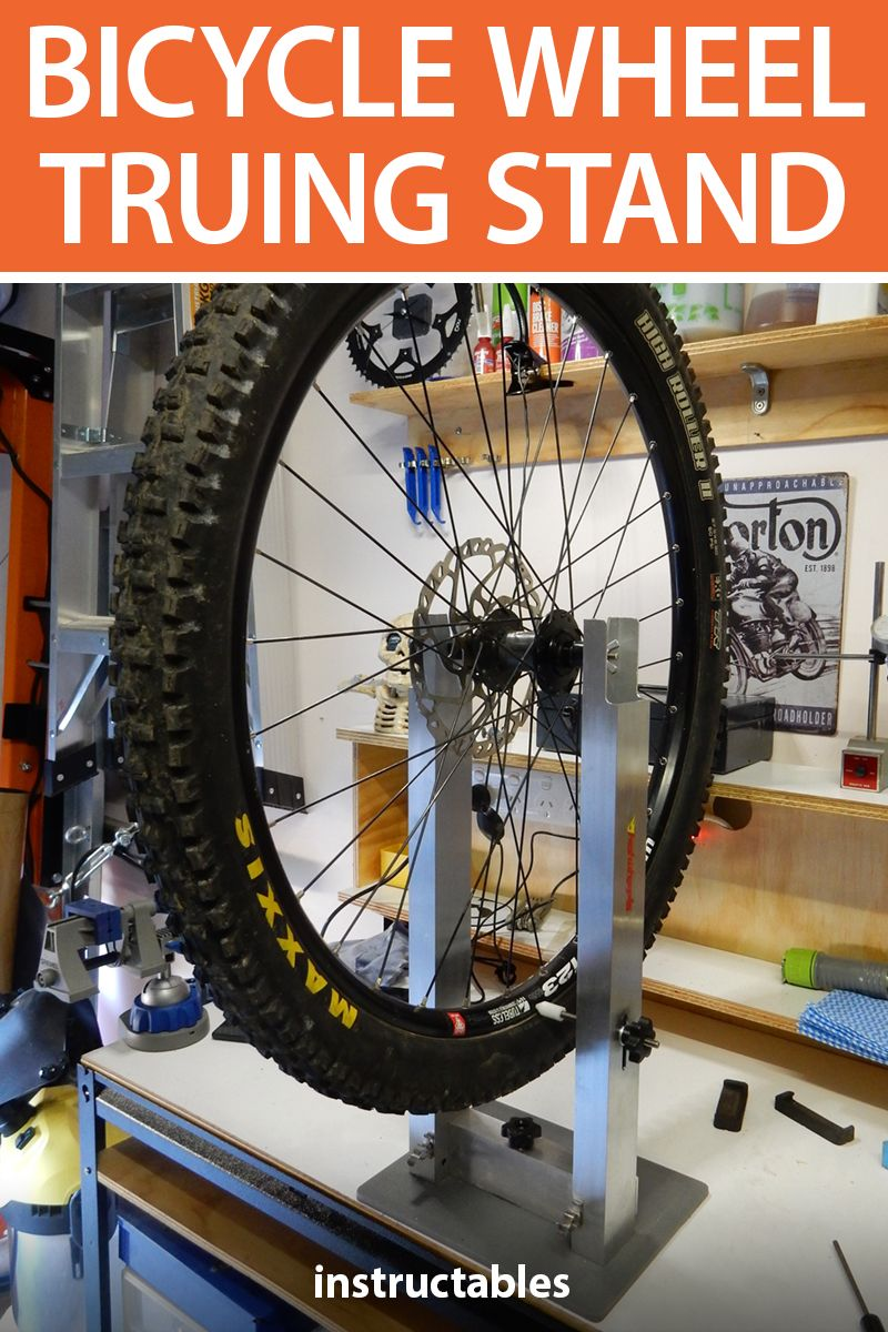 Home Mechanic Bicycle Wheel Truing Stand Bicycle wheel