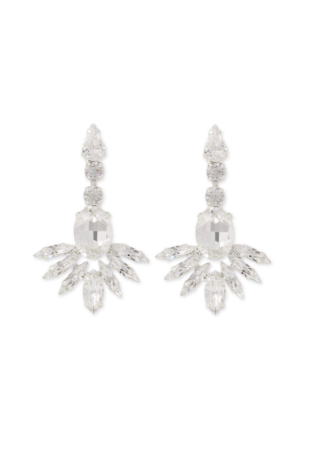 Tova Crystal Fanfare Earrings