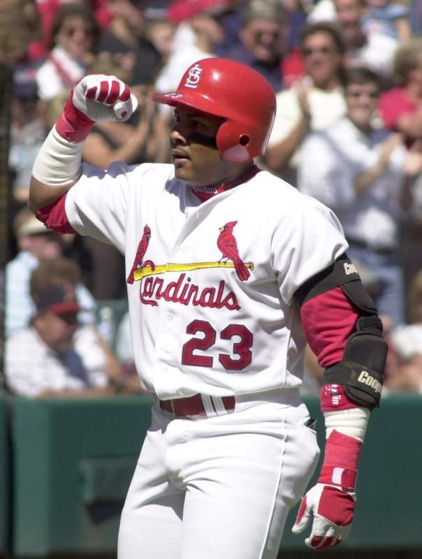 April 23, 1999 Fernando Tatis becomes the only player in major league history to hittwo grand slams in the same gamein one inning. Tatis hits both off Dodger starter Chan Ho Park in an 11-run third inning, setting the major league mark. The third baseman's eight RBIs in one inning also breaks the old record of six.