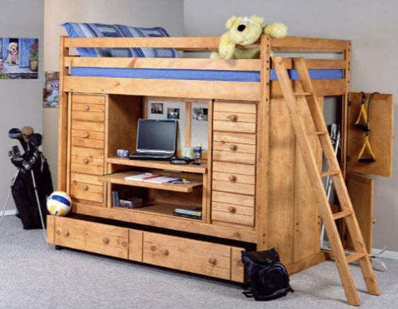 Trendel Bottom Loft Bed Plans Bunk Beds Bunk Bed Plans