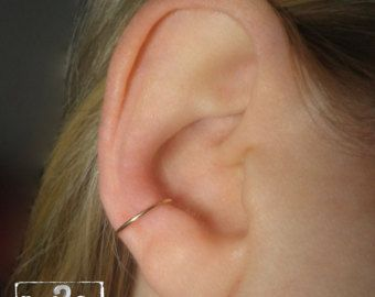 SALE Double Conch Ring Fake Piercing by Junylie on Etsy