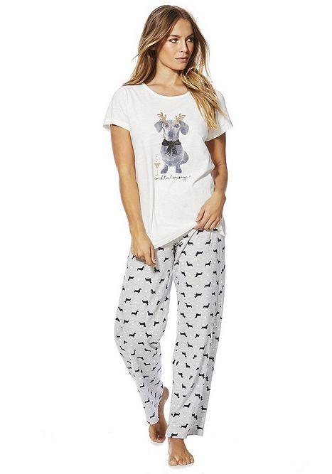 pyjamas for dog lovers puppy pyjamas grey flannel pyjamas women/'s gift pyjamas, Pyjamas with dogs Christmas pyjamas ladies pyjamas