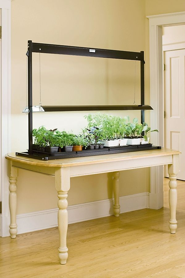T5 Table Top Grow Lights Made In The Usa Gardeners Com 400 x 300