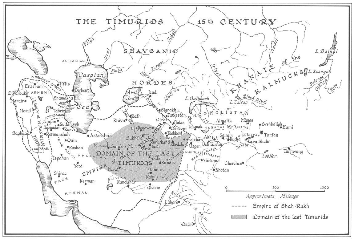 Pin by Michael Statham on Timurid (With images) Map