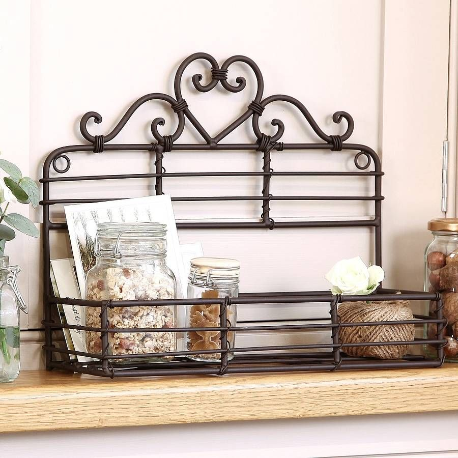 Iron Heart Kitchen Jar Holder