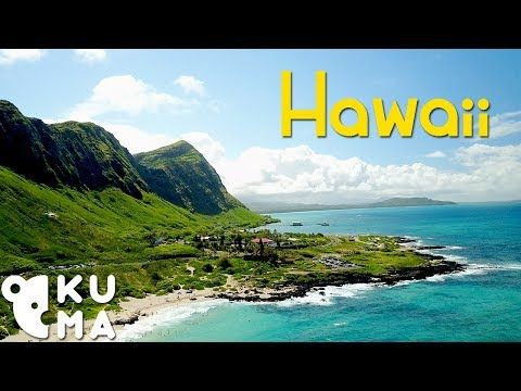 Tropical Paradise Travel Video  - Hawaii Drone Footage (4K)