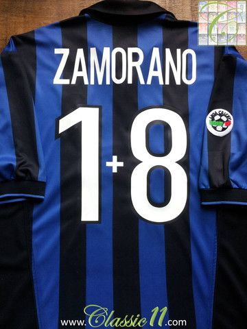 save off 7090a e1a9d Relive Ívan Zamorano's 1998/1999 Serie A season with this ...