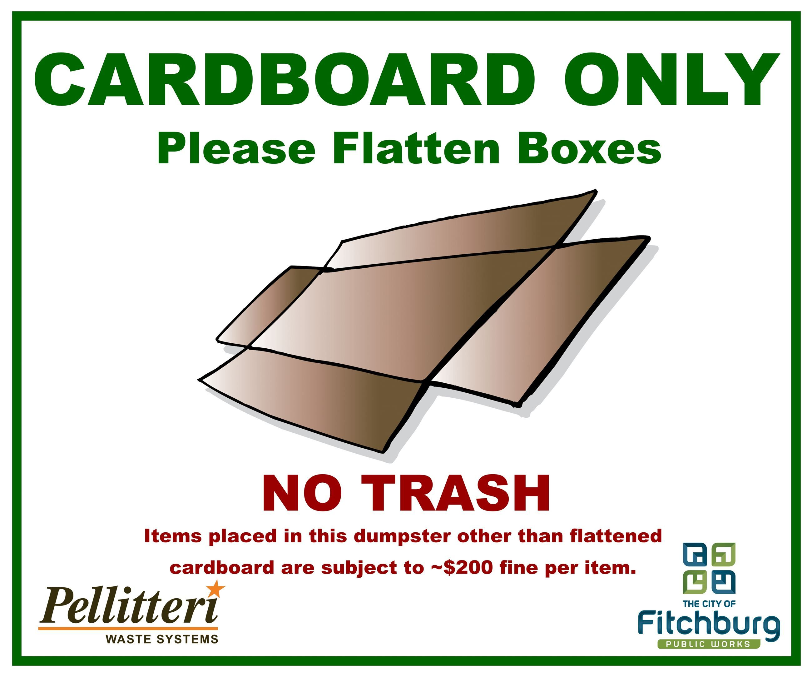 Image Result For Bagged Garbage Signs