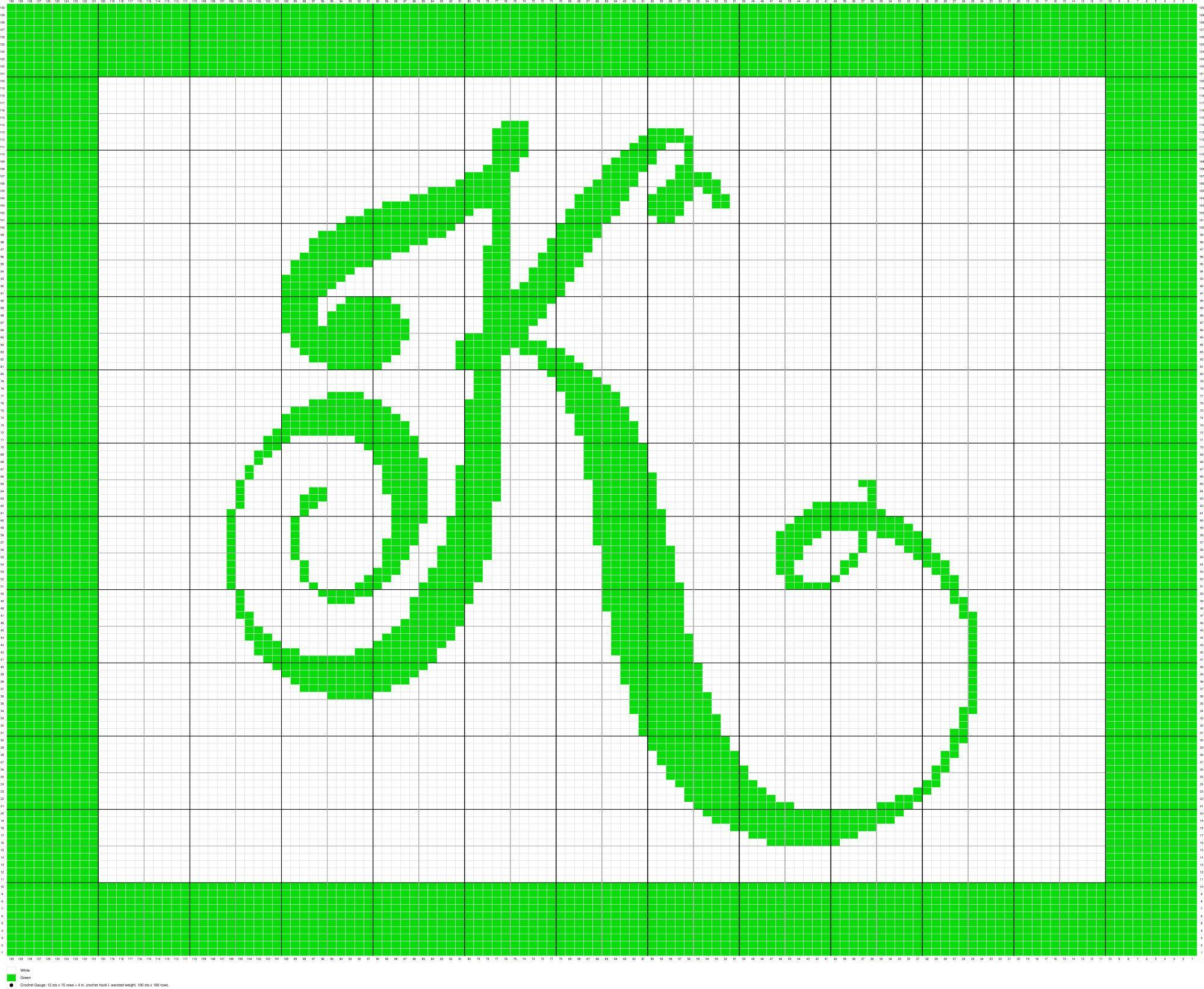 Crochet Monogram Letter K, Crochet, Knit, Cross Stitch, Charts ...