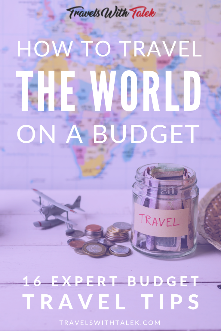 So you want to know how to travel the world on a budget? Here are 16 budget travel tips from expert travel bloggers to help you save money on travel from how to find cheap airfare to saving money on food and transportation. tips #budgettravel  #style #shopping #styles #outfit #pretty #girl #girls #beauty #beautiful #me #cute #stylish #photooftheday #swag #dress #shoes #diy #design #fashion #Travel