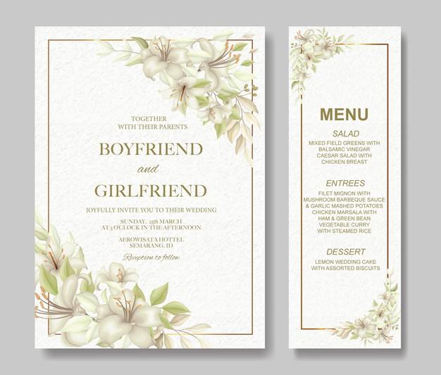 Wedding Invitation Card Wedding Invitation Cards Watercolor Wedding Invitations Watercolour Wedding Stationery