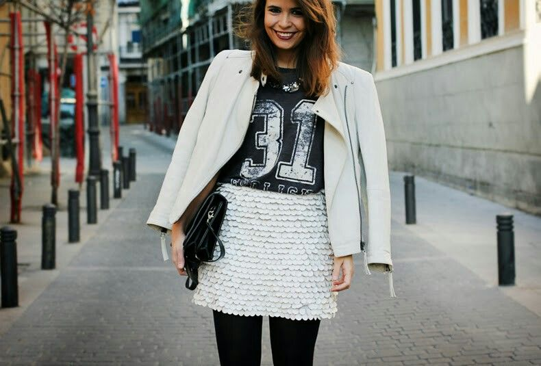 Look blanco/negro