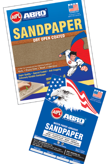 #Abrasive #craft #paper for wet and dry sanding of paints and primer surface having special heavy paper backing.