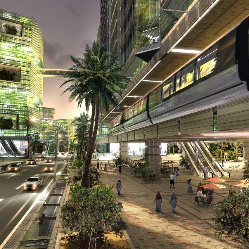 King Abdullah Financial District Riyadh Henning Larsen Architects Financial District Architecture Building Design