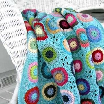 pokey dots throw crochet pattern   Crochet   Pinterest