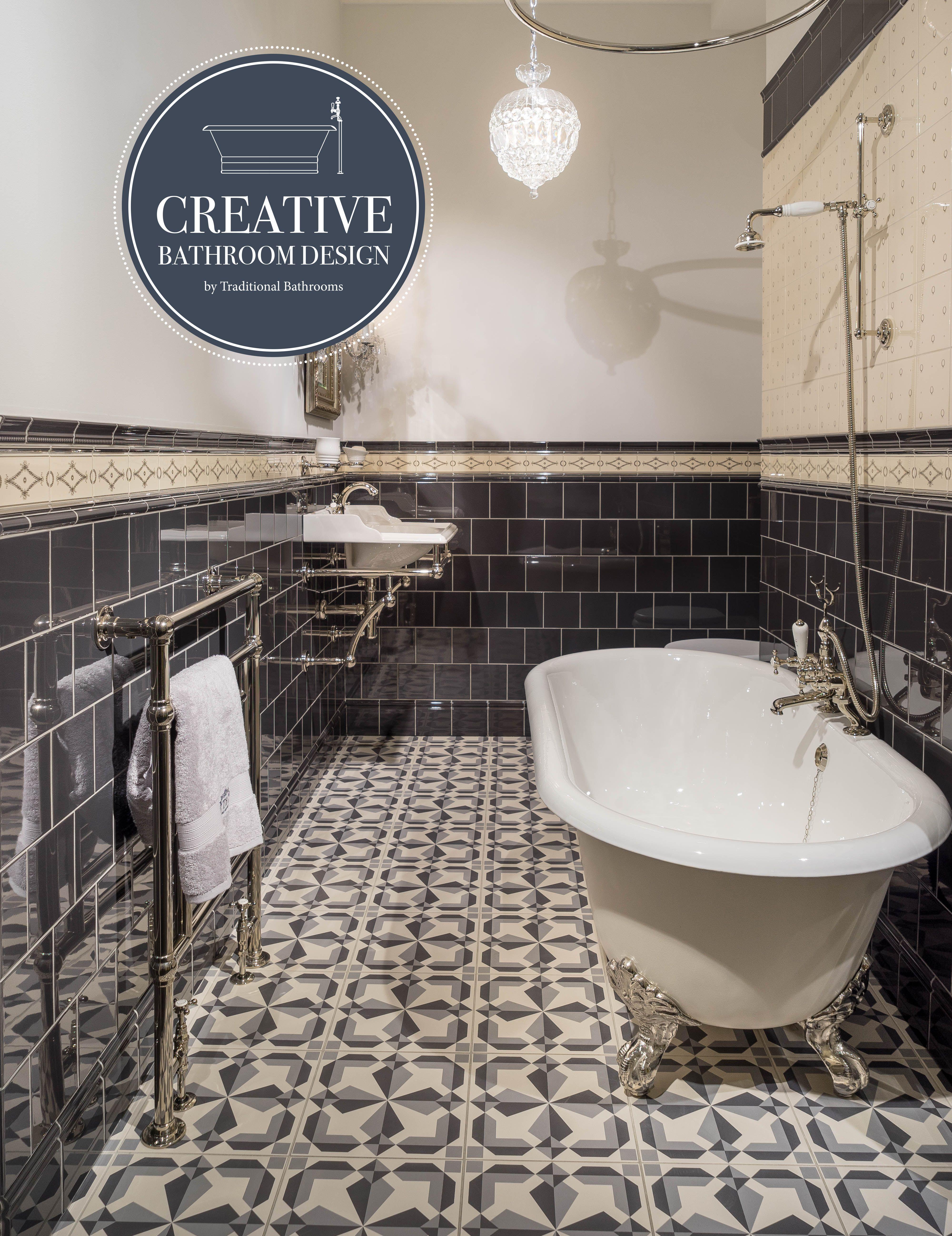 Klassisches Badezimmer Badezimmer Nostalgisch Stil Badezimmer Badezimmer