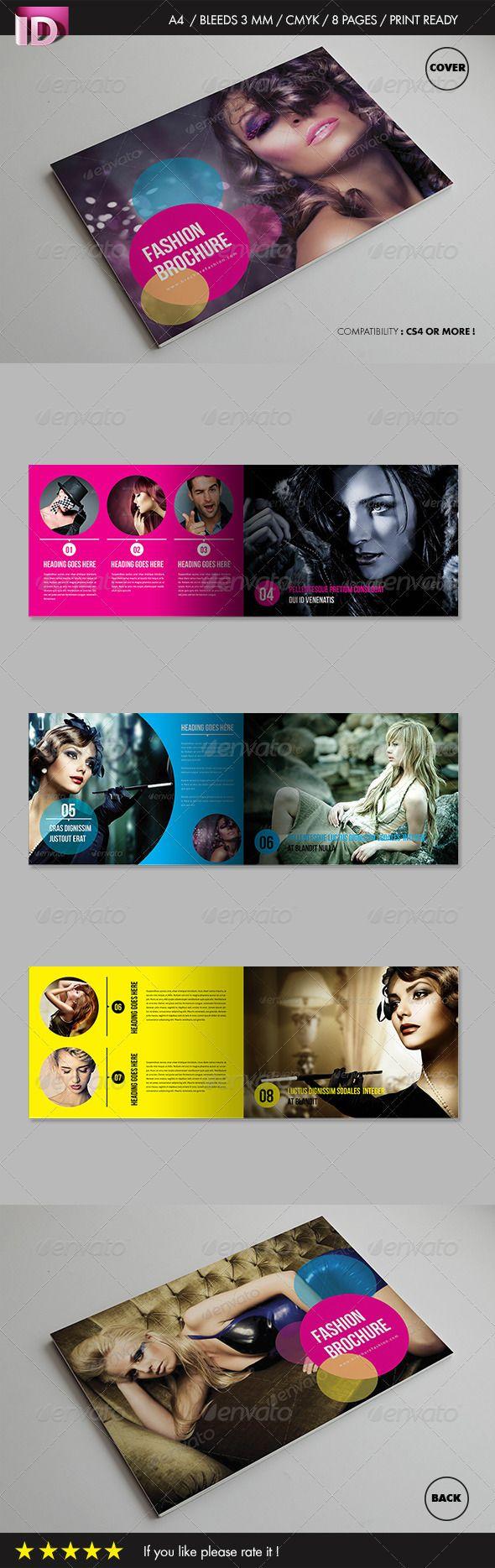 Fashion Brochure Vol 1 – Fashion Design Brochure Template