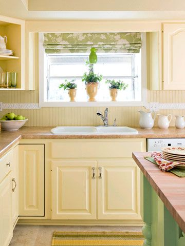 our favorite budget kitchen remodels under 2 000 yellow kitchen cabinets kitchen remodel on kitchen remodel yellow walls id=92758