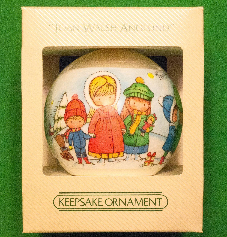 1982 Hallmark Satin Keepsake Ornament By Joan Walsh Anglund - Still In Box