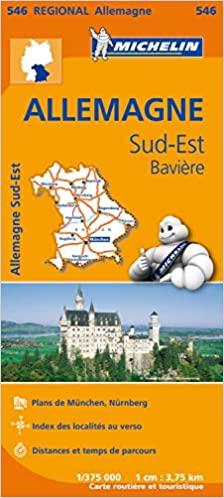 Amazon Fr Carte Allemagne Sud Est Baviere Michelin Michelin Livres Carte Allemagne Baviere Allemagne