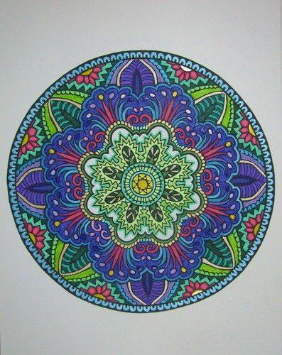Customer Image Gallery For Mystical Mandala Coloring Book Dover Design Books