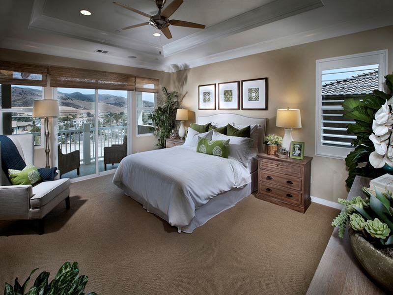 Master Bedroom. Model Home (With Images)