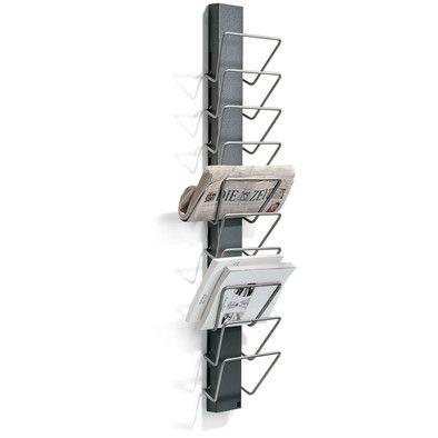 zeitungshalter stahlblech einrichten und wohnen pinterest zeitung zeitungshalter und stahl. Black Bedroom Furniture Sets. Home Design Ideas