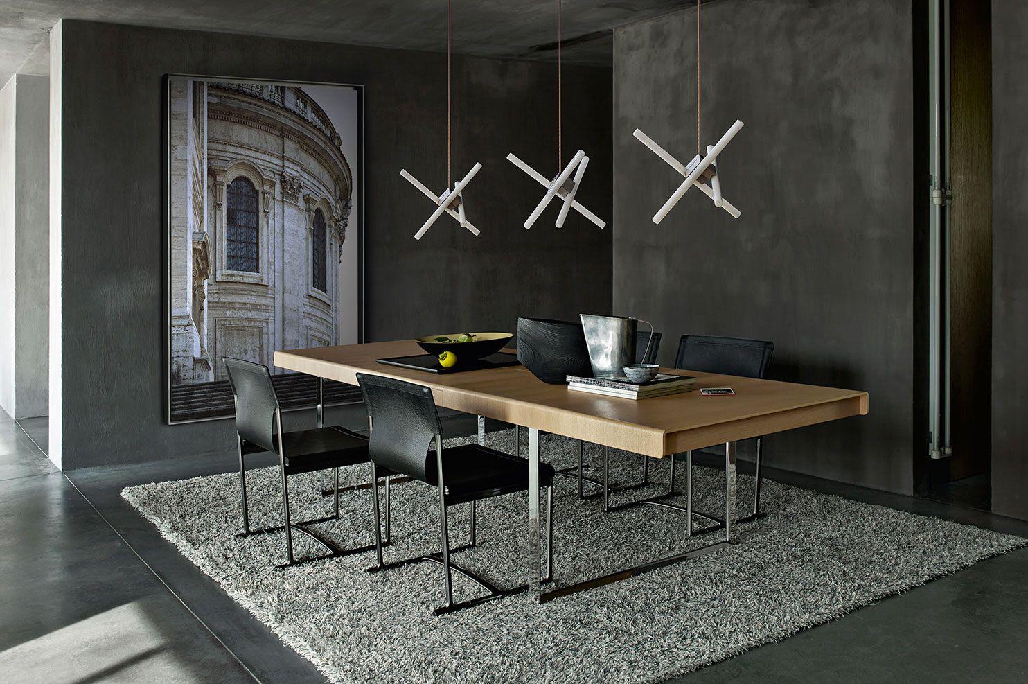Design Paolo Piva.Table Athos 2012 Collection B B Italia Design Paolo