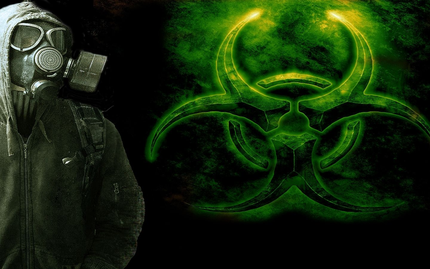 Download 1440x900 Sci Fi Gas Mask Wallpaper/Background ID