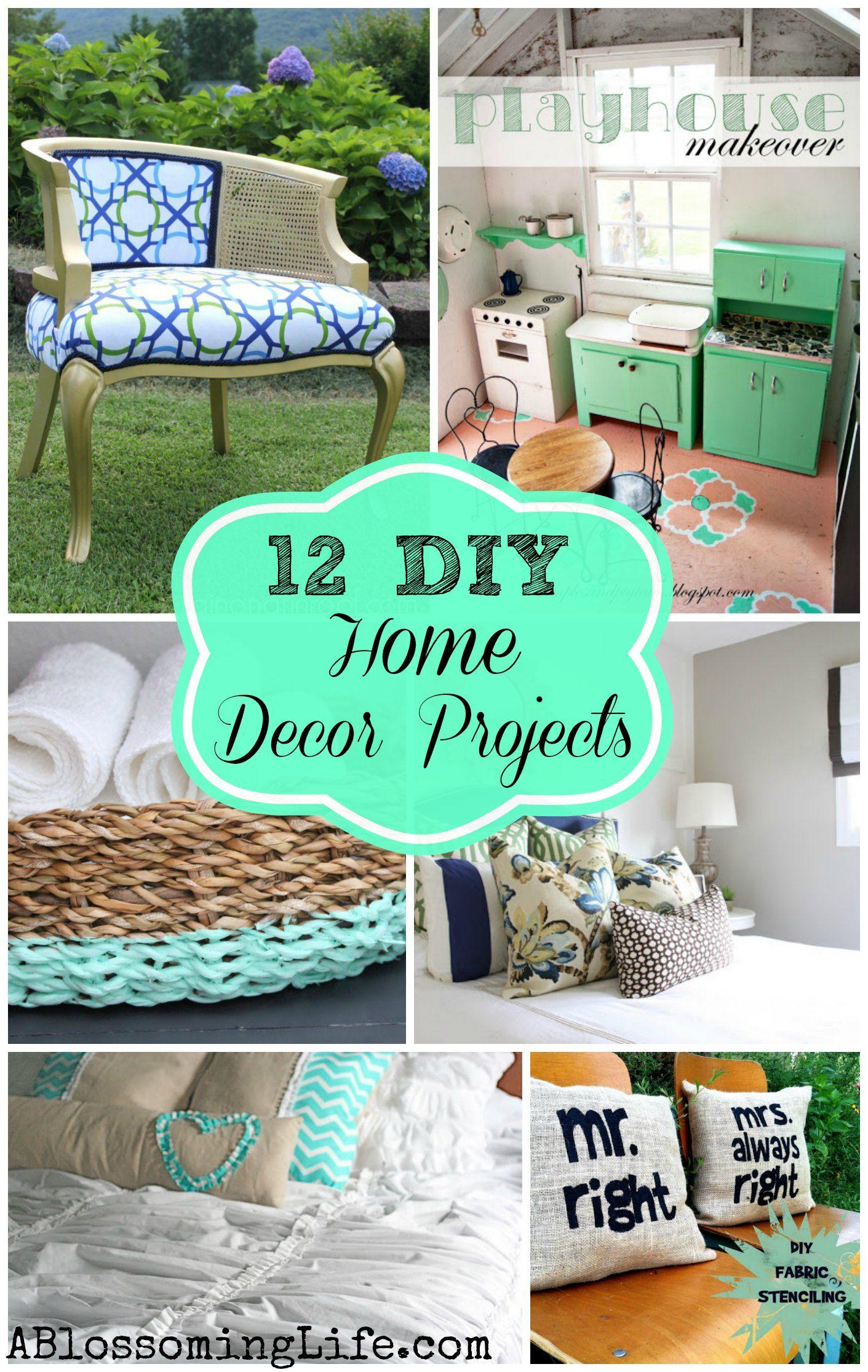 12 inspiring diy home decor projects diy tutorial ps and 12 inspiring diy home decor projects