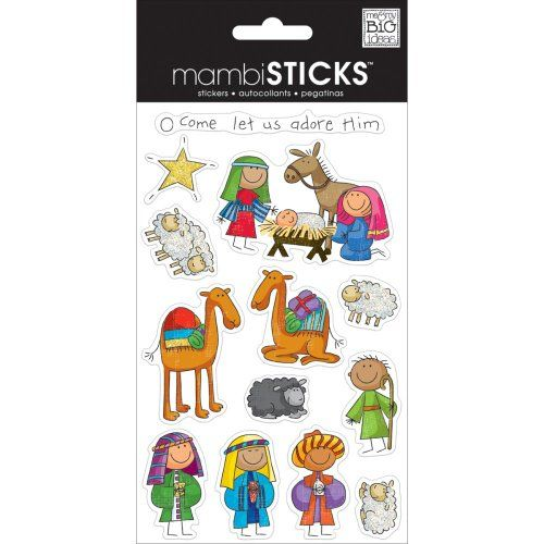 mambiSTICKS Sticker Pack, Nativity ME & MY BIG IDEAS
