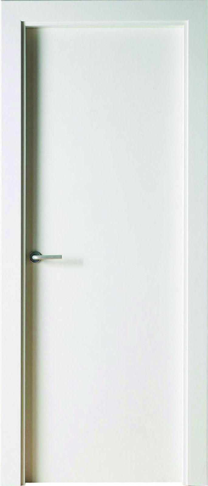 Puertas lacadas blancas lisas puertas de paso en 2019 - Puertas blancas exterior ...