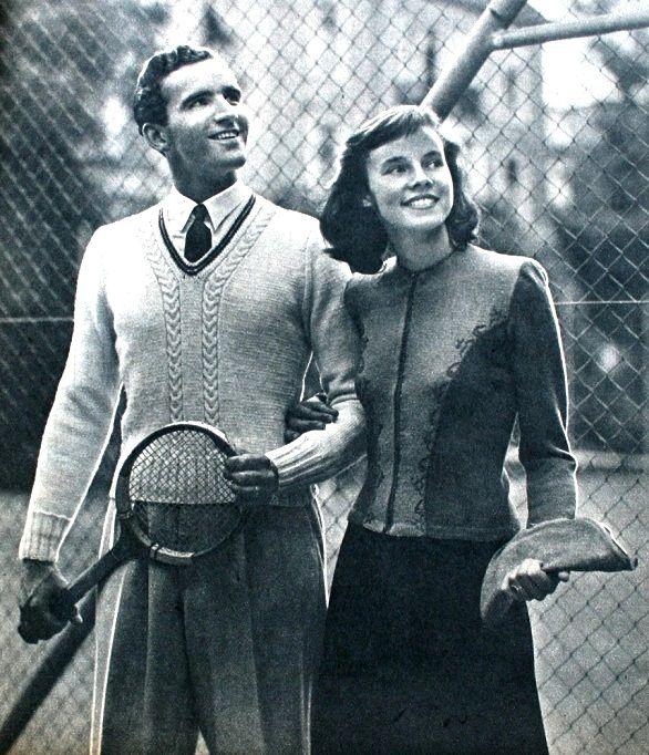 Libelle (Dutch) 1940s, knitting fashion