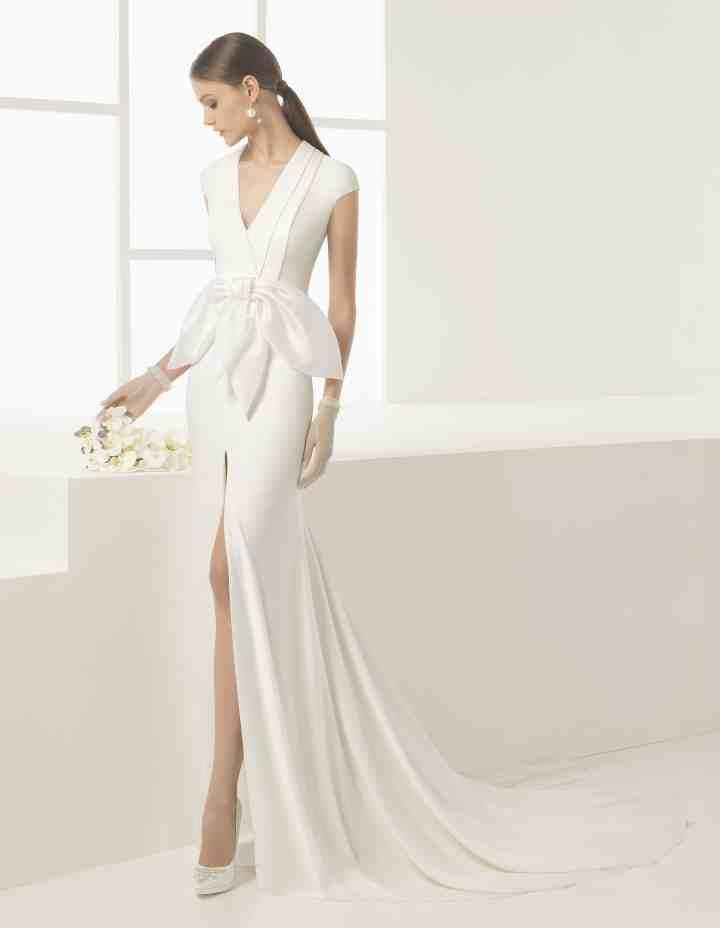 Vestidos de novia sencillos: los 91 modelos más bonitos | Vestidos ...