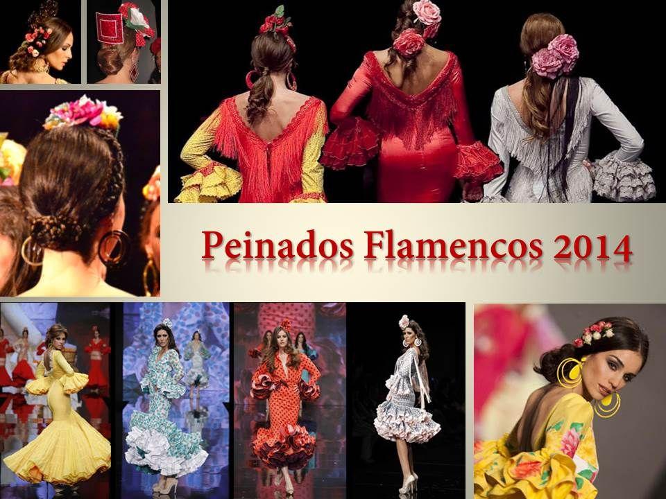 Peinados Para Nuestros Trajes De Flamenca Temporada 2014 Luce Tu