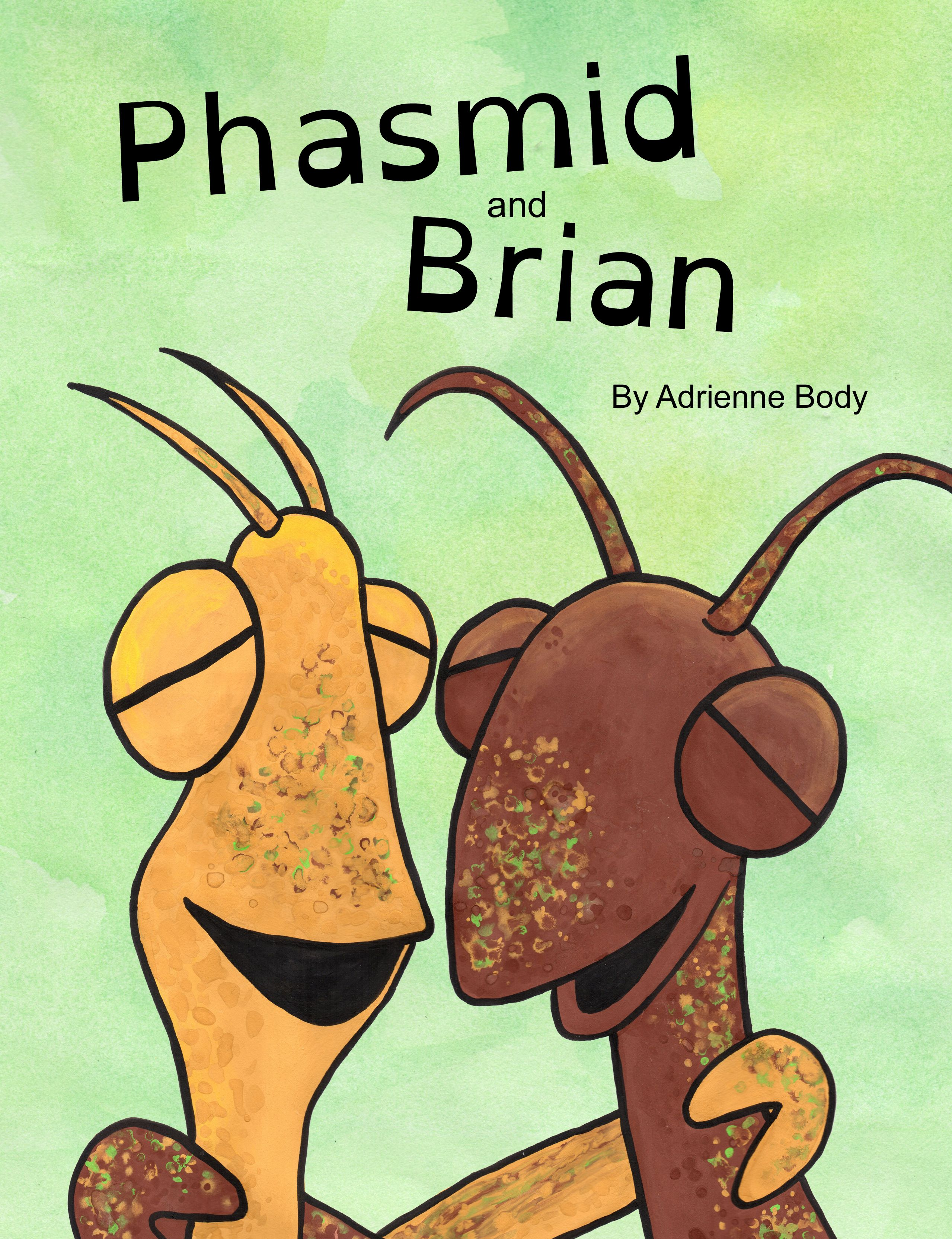 simple but funny childrens book about stick insects, complete with ...