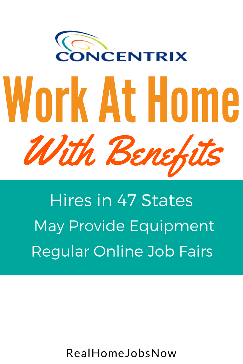 Concentrix Work At Home Call Center Jobs Home, An and