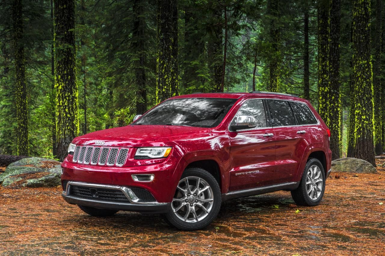 2014 Jeep Grand Cherokee Oh I Actually Like The Red 2014