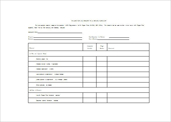 Project Plan Template - When creating a project program, ensure you