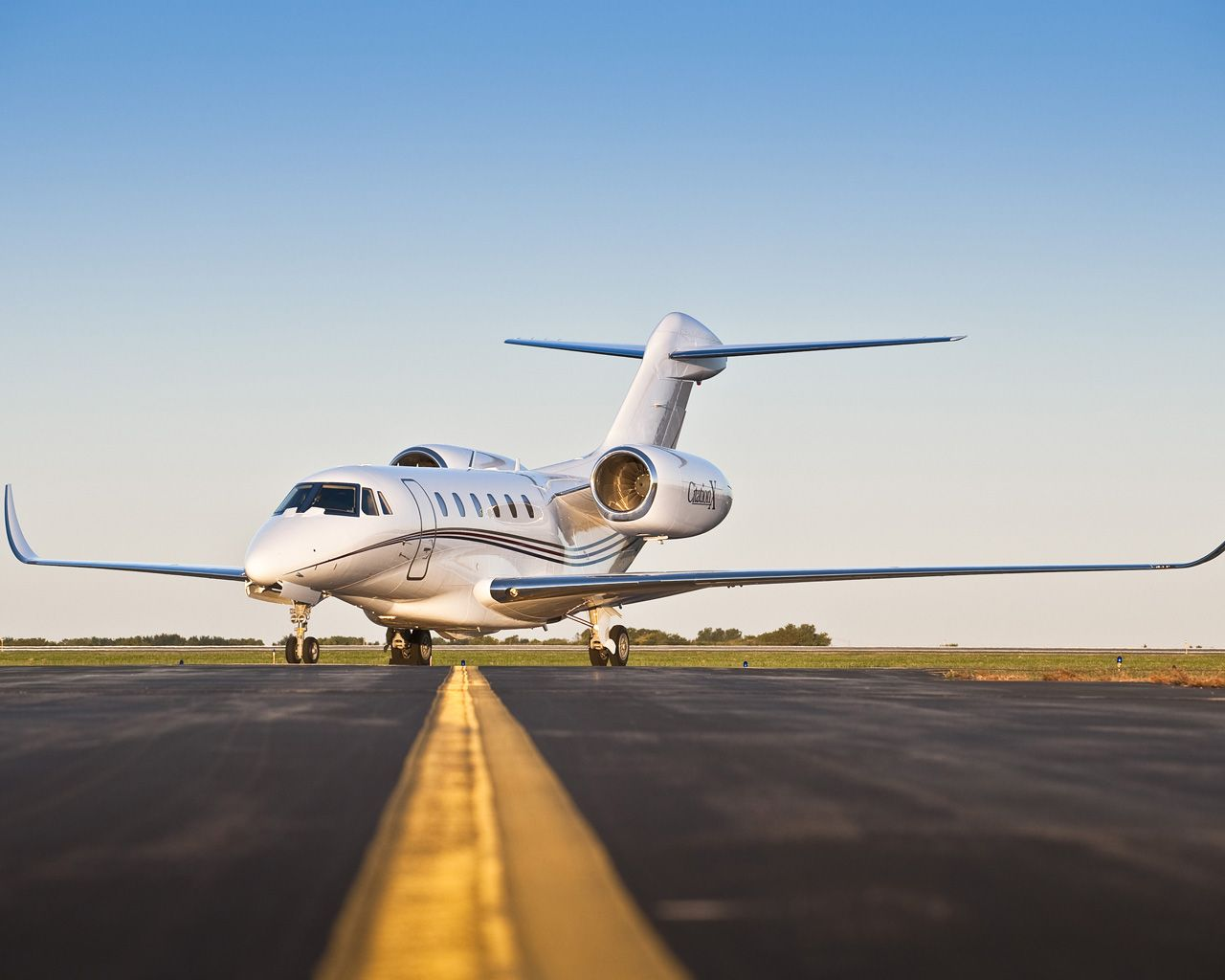The Cessna Citation X.  Now there is a Citation TEN which is a new and improved X.  Mainland to Hawaii is possible in this aircraft, which is not the case for most private aircraft.  Of course, it is an insanely expensive way of getting there, but  when you're filthy rich, who cares?