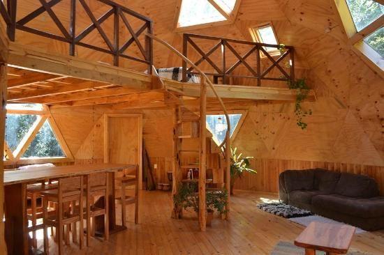 Resultado de imagen para interior domo el domo en la - Casas geodesicas ...