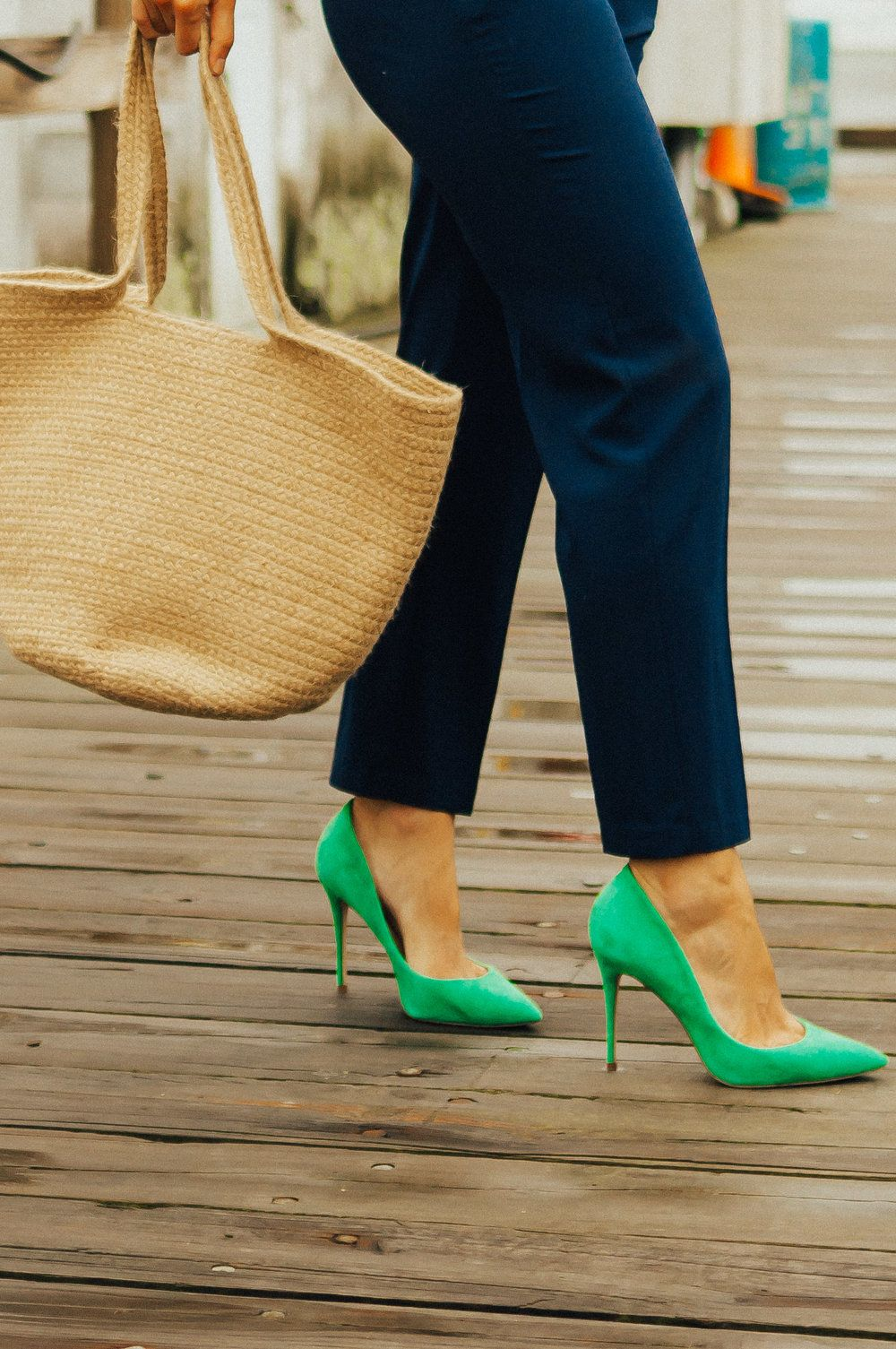 Green heels, Green shoes heels