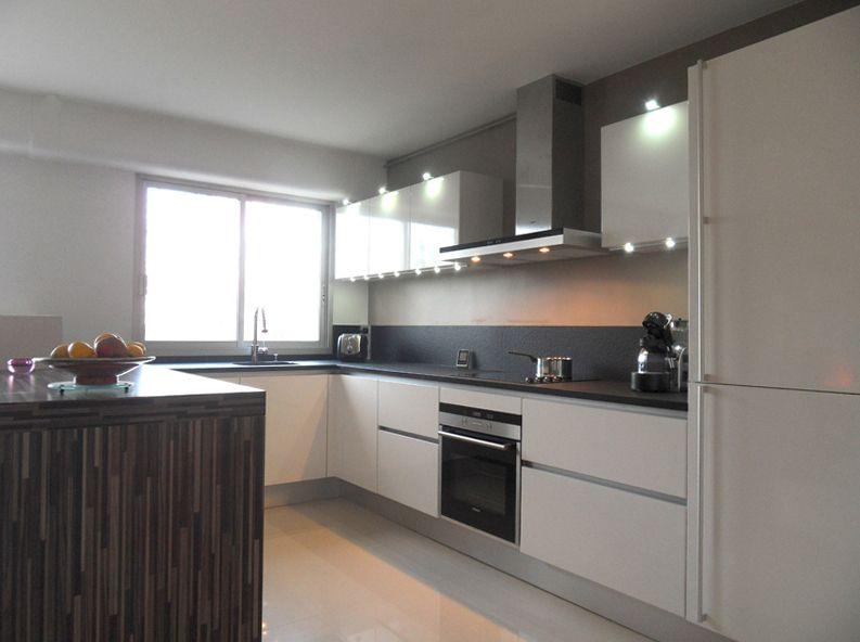 la cuisine blanche : intemporelle et élégante | cuisines, idées de ... - Cuisine Equipee En U