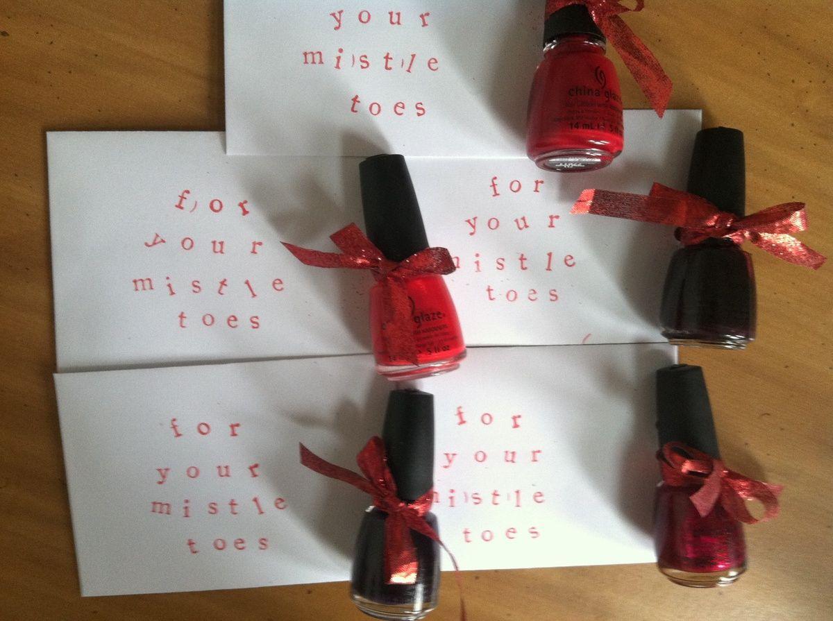Nail polish xmas gift | Gifts | Pinterest