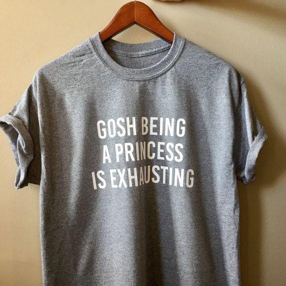 woman cute shirt, woman funny clothing,gosh being a ...
