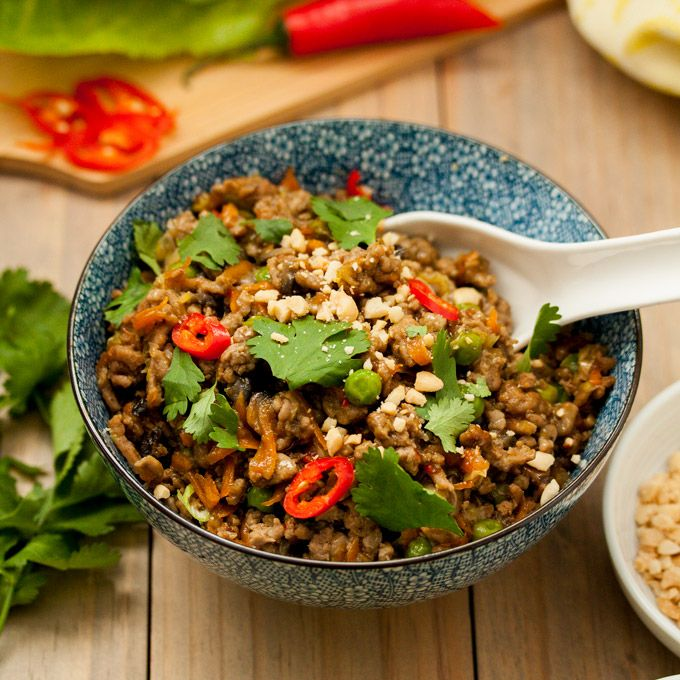 Quick & Healthy Turkey San Choy Bow | Healthy turkey mince ...