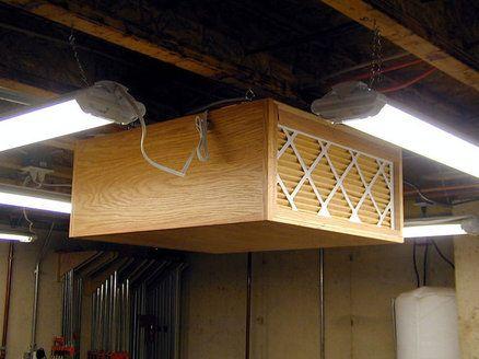 Homemade Woodworking Workshop Filtration System Diy Woodworking Woodworking Workbench Woodworking Workshop