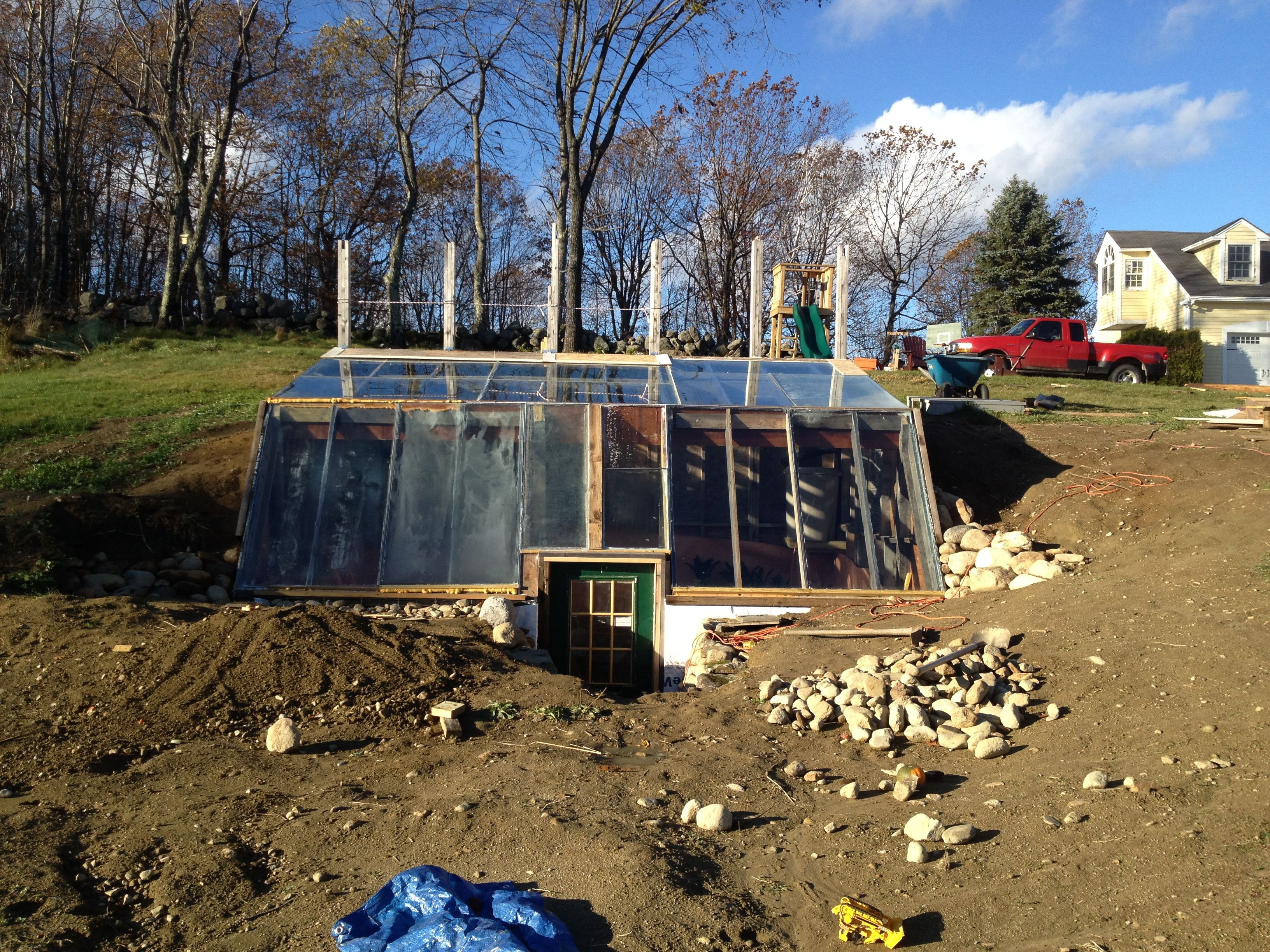 Underground Greenhouse Earth Sheltered Permaculture